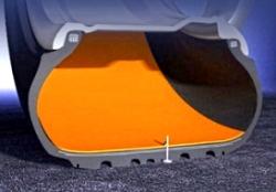 Разновидности шин с технологией run-flat.