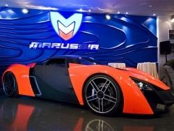 Marussia заряженный спорткар российского разлива.