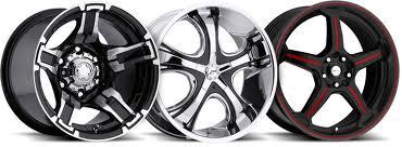 Разновидность колесных дисков.